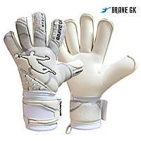 Детские вратарские перчатки BRAVE GK PHANTOM KIDS WHITE, размер 5, фото 1