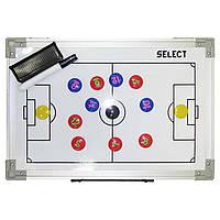 Доска тактическая складная SELECTTactics board foldable - football 60х45