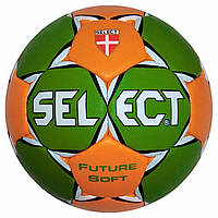 Мяч гандбольный SELECT FUTURE SOFT MICRO (зел/оранж) размер 00
