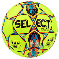 Мяч футбольный SELECT Brillant Super FIFA TB (042) желто/красный размер 5, фото 1