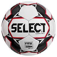 Мяч футбольный SELECT Contra FIFA (014) бело/красный размер 4