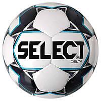 Мяч футбольный SELECT Delta (015) бел/сер размер 4, фото 1