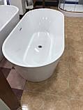 Отдельностоящая акриловая ванна с ножками Dusel DU103, 1700x800х580 мм, фото 9