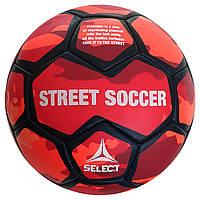 Мяч футбольный SELECT Street Soccer (208) оранж/синий, размер 4,5