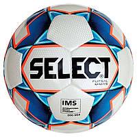 Мяч футзальный Select Futsal Mimas IMS NEW (125) бел/син/оранж, фото 1