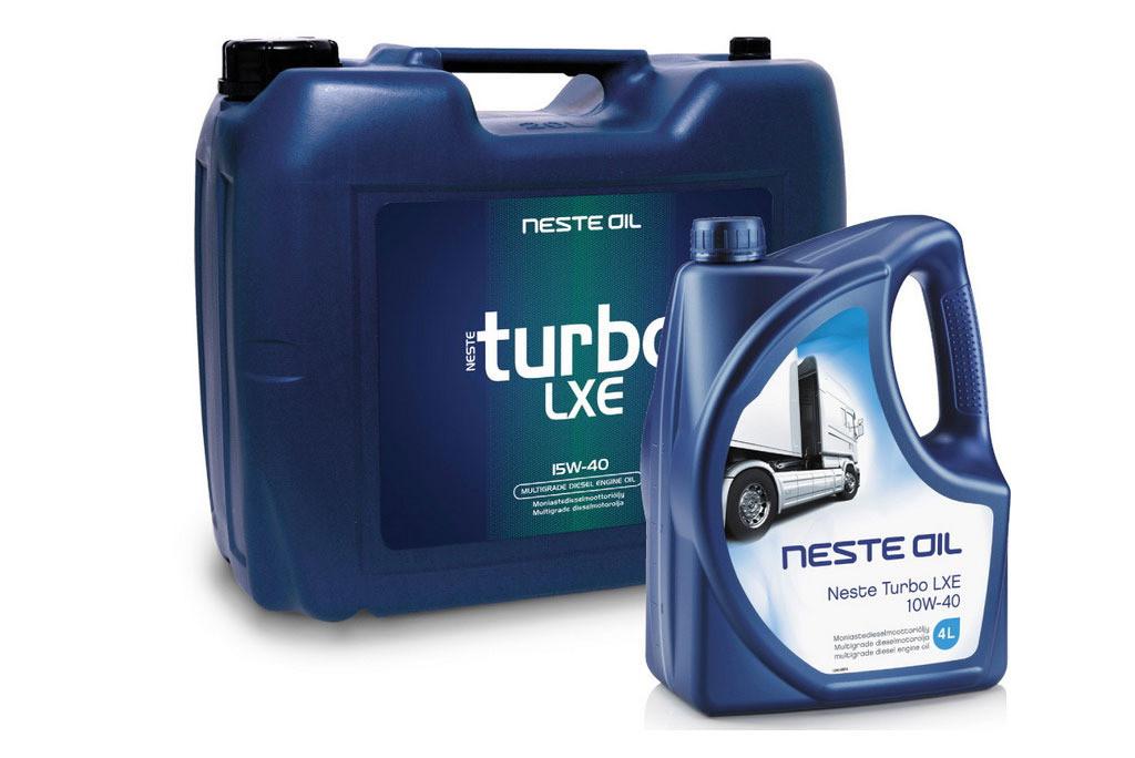 Моторное масло Neste Oil Turbo LXE 10W-40 4л