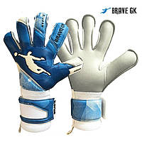 Перчатки вратарские BRAVE GK AQUA BLUE, фото 1