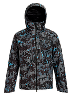 Горнолыжная куртка Burton AK Gore-TEX 2L LZ Down (Slate Shelter Camo) 2020, фото 1