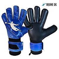 Перчатки вратарские BRAVE GK PHANTOME BLACK/BLUE размер 10, фото 1