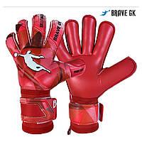 Перчатки вратарские BRAVE GK PHANTOME RED размер 10, фото 1