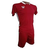 Футбольная форма детская Swift PRIORITET (красно - белая), фото 1