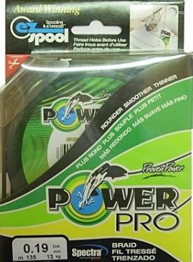 Шнур Power Pro, перетин 0,18 мм, довжина 125м
