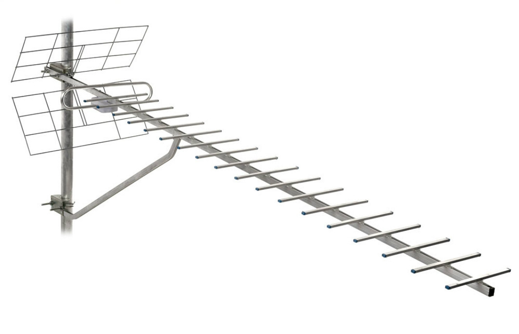 ТВ-антена Т2 Energy 1,5 м (F-конектор) - 17 Дб