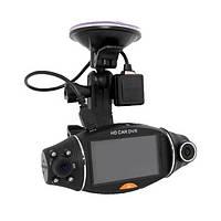 Автомобильный видеорегистратор R310 GPS 2 камеры, фото 1