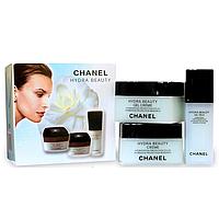 Подарочный Набор кремов для лица Chanel Hydra Beauty 3 в 1