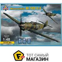 Модель 1:48 самолеты - Modelsvit - Messerschmitt Bf 109 C-3 (MSVIT4805) пластмасса