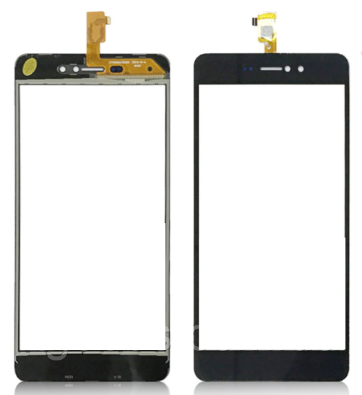 Сенсорный экран для смартфона Bravis A512, тачскрин черный