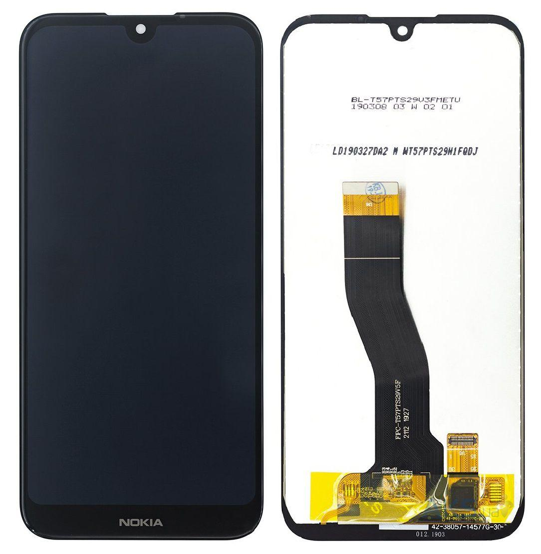 Дисплей модуль для Nokia 4.2 Dual Sim в зборі з тачскріном, чорний