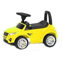 Дитяча машинка каталка (жовтий) ТАКСИ