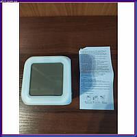 Часы светильник Хамелеон CX508 с будильником и термометром