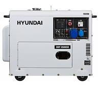 Дизельный генератор 7 кВт Hyundai Diesel DHY 8500SE (Бесплатная доставка по Украине)