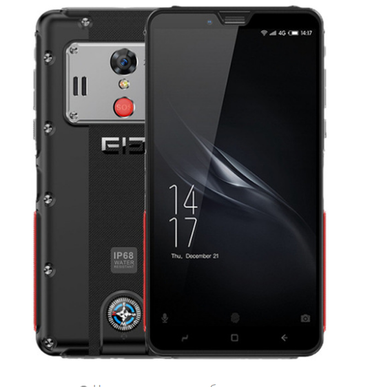 Телефон Elephone Soldier black 4/128Gb NFC