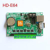 Контроллер HD-E64 huidu для LED дисплея, бегущей строки, светодиодного рекламного экрана
