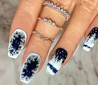 Новогодние дизайны ногтей!!!