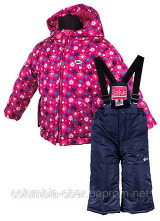 Комплект зимний для девочки Salve by Gusti SWG 4900  super fuchsia. Размеры 92 - 128.
