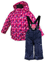 Комплект зимний для девочки Salve by Gusti SWG 4900  super fuchsia. Размер 92 - 104 и 128.