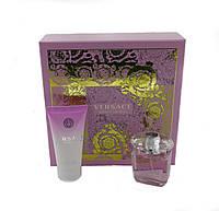 Подарочный набор  Versace Bright Crystal туалетная вода 30мл + лосьон для тела 50мл