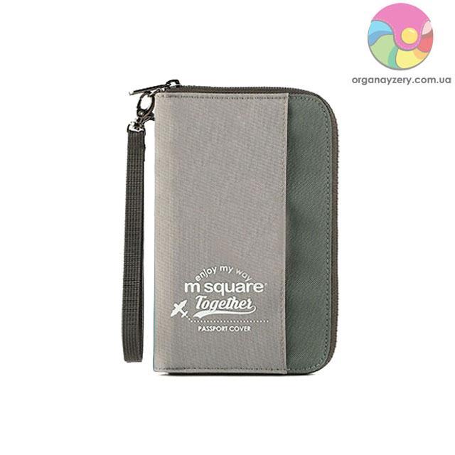 Органайзер для документів M Square компактний (сірий)
