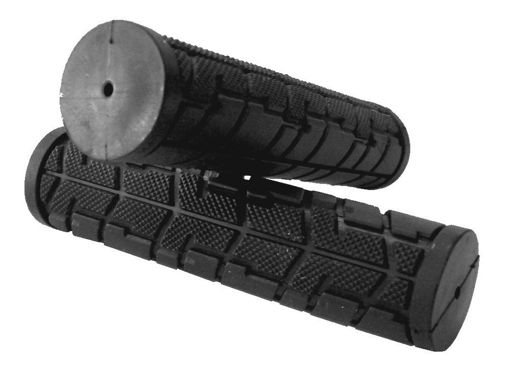 Грипсы велосипедные Velo VLG-207 прямые, 125 мм