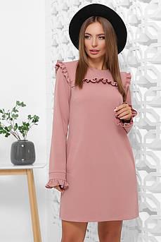 Кокетливое платье Шанель-4 с длинным рукавом