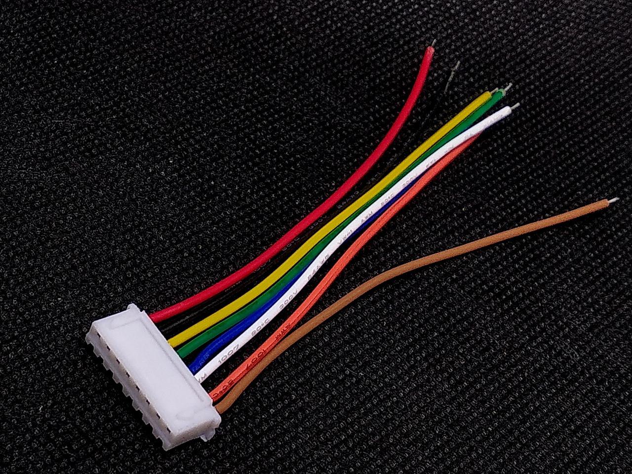 Разъем XH2.54 8pin с проводами 10 см
