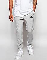 Спортивные штаны Адидас на манжете, мужские штаны Adidas трикотажные на любой сезон, реплика