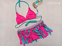 Купальник для подростков RIVAGE LINE Сингапур 2215 розовый (есть  34 36 38 40 размеры)