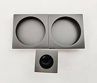 Ручка для раздвижных дверей Fimet 3667С+MQантрацит (Италия)