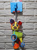 "Мягкая игрушка-подвеска на кроватку/ коляску ""Собака"" ТМ Mioobaby"