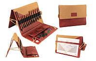 31282 Набор деревянных укороченных съемных спиц Deluxe (Special) Ginger KnitPro, фото 1