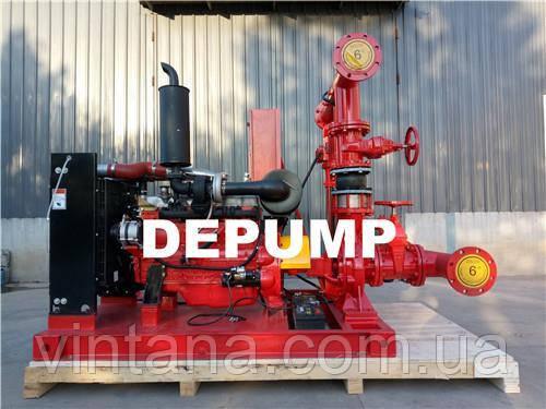 Дизельная насосная станция пожаротушения Depump