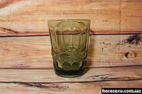 """Набор зелёных низких стаканов для напитков """"Изумруд"""" 6 шт 240 мл (6440)"""