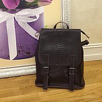 Стильные кожаные рюкзачки трансформеры , рюкзак кожа KT32245 коричневый  пудра, фото 1
