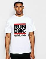 Мужская футболка Адидас, брендовая футболка Adidas спортивная, качественный хлопок.
