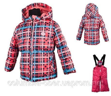 Зимний комплект для девочки Salve by Gusti SWG 4852 фуксия. Размеры 92 - 128.