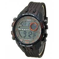 Q&Q M164J коричневі чоловічі спортивні годинник