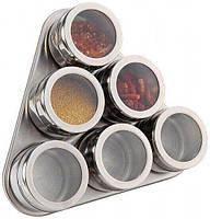 Набор для специй на магнитной подставке Edenberg EB-3499 - 7 пр