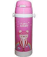 Термокружка-термос Edenberg EB-3524 pink - 500 мл для детей