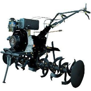 Дизельный мотоблок ДТЗ 585Д ( 8,5 л.с., ручной стартер, воздушное охлаждение, Черный)