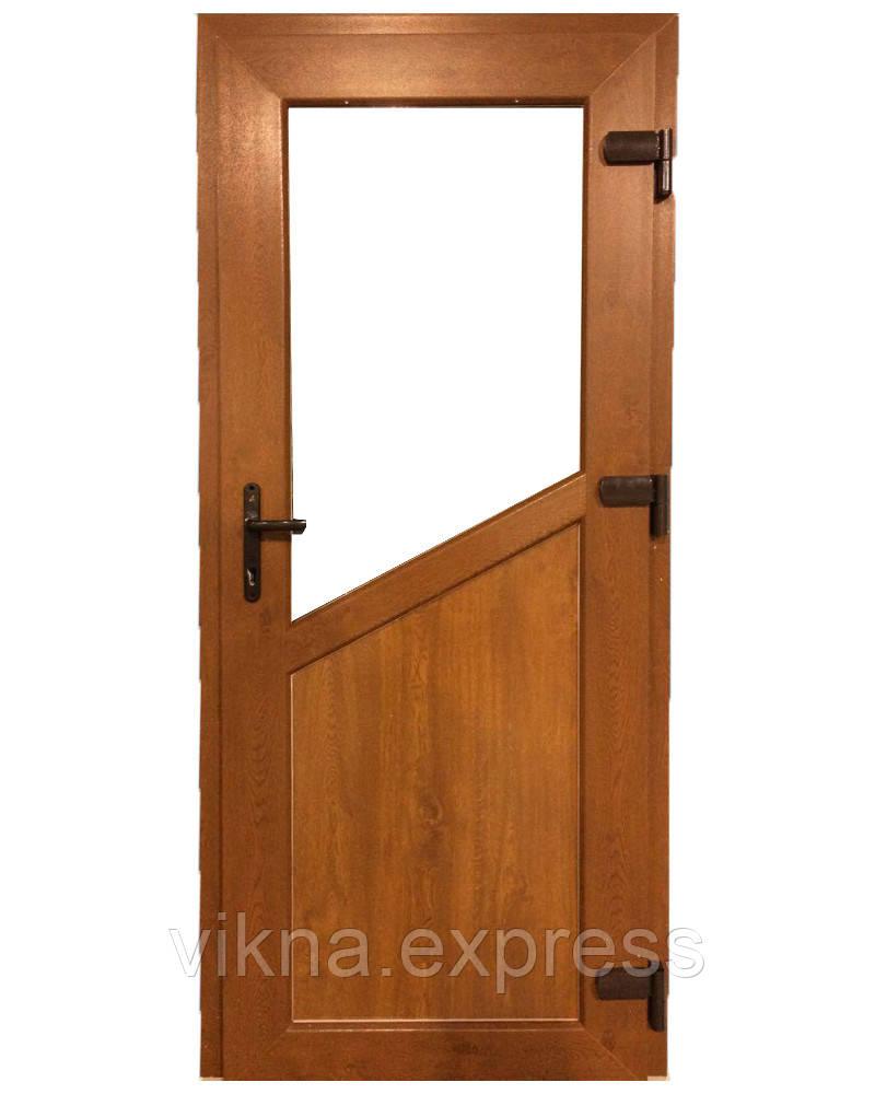 Входные двери ламинация снаружи дуб  3600 грн м кв